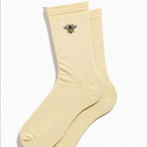Bumble Bee Crew Socks